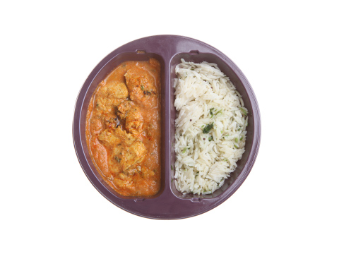curry and rice ready meal