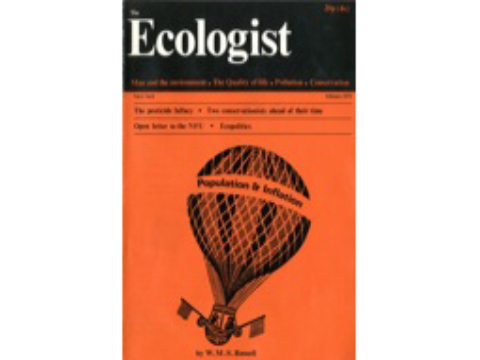 Front Cover for the 1971 February Ecologist Edition