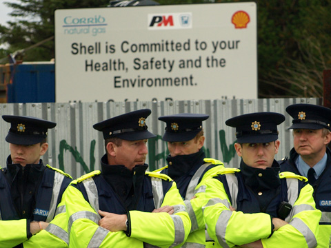 Shell protest