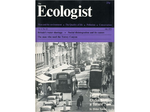 Ecologist Magazine July 1971