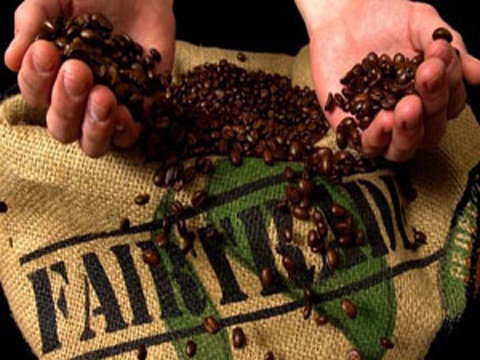 Fairtrade coffee