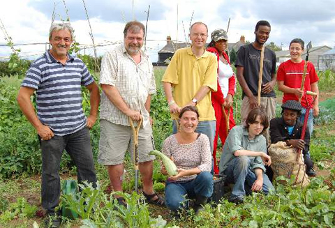 Community farm in Surrey