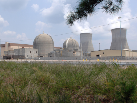 An AP1000 reactor is under construction at Vogtle Electric Generating Plant, Georgia. Units 1 and 2 pictured here. Photo: Nuclear Regulatory Commission via Flickr.com.