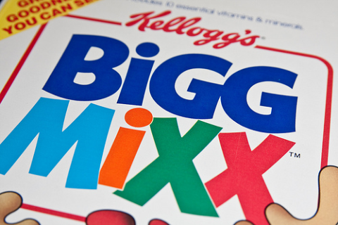Kellogg's BiGG MiXX - 4-Grain Goodness You Can See! Photo: Jason Garber via Flickr.com.