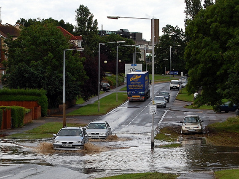 Maidenhead floods. Photo: poppy via Flickr.com.