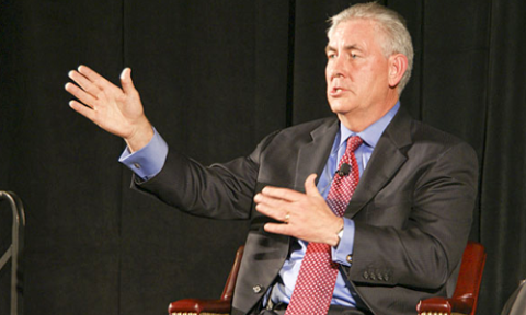 Rex Tillerson, CEO of ExxonMobil, is a forceful advocate of deregulation in the fracking sector. Photo: Wikimedia Commons.