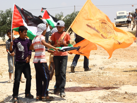 A protest in Susya, 22nd June 2012. Photo: Yossi Gurvitz via Flickr.com.
