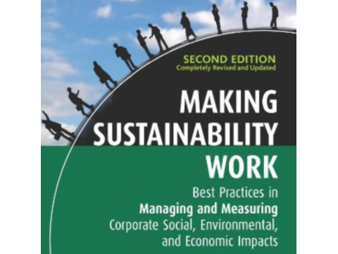Making Sustainability Work - second edition, front cover.