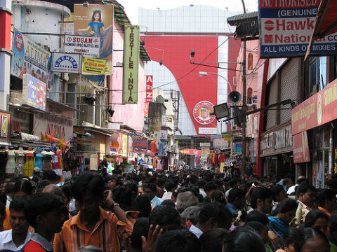 A regular Sunday shopping in Chennai, India. Photo: McKay Savage via Flickr.com.