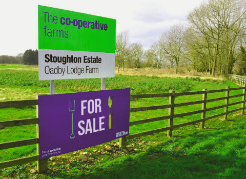 For Sale - the Co-op's Stoughton Farm.