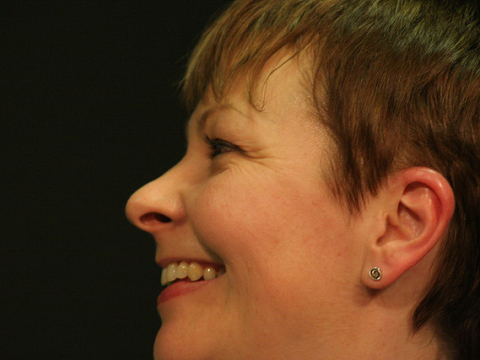 Caroline Lucas, the Green MP for Brighton Pavilion. Photo: http://underclassrising.net/ via Flickr.com.