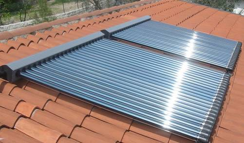 Installation of thermal solar collectors on UK roofs will now be supported by the Renewable Heat Incentive. Photo: Westech Solar UK Ltd.
