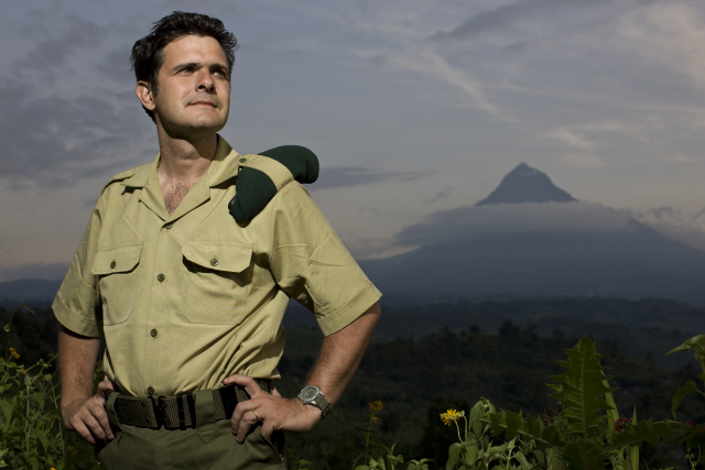 Virunga National Park's Chief Warden, Emmanuel de Merode, was shot last week in an ambush on the road from Goma to Rumangabo. Photo: Brent Stirton / Getty Images.