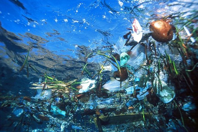 The oceans are filled with garbage. Who's in charge of the cleanup? Photo: Cesar Harada via Flickr.com, CC BY-NC-SA.
