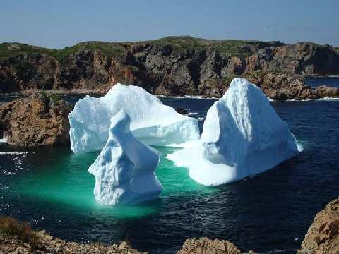 Fourth of July Iceberg, 2008, Twillingate, Newfoundland. Photo: Barbara Matilsky.