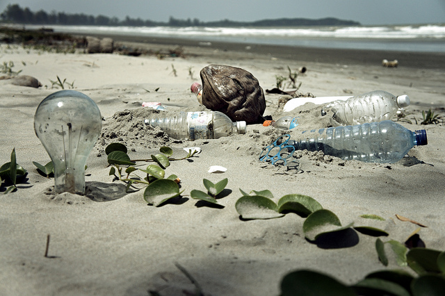 Could a World Environment Organization solve problems like this? A rubbish-strewn beach in Malaysia. Photo: epSos.de via Flickr.