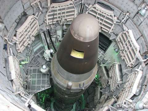 A disarmed Titan missile at the Titan Missile Museum, Green Valley, Arizona. Photo: Devin via Flickr.