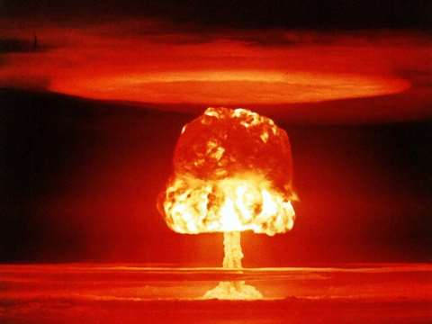 Other ways humanity could end are more subtle - but nuclear war still presents the greatest threat to human survival. United States Department of Energy, CC BY.