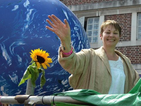 Green MP Caroline Lucas is a lone Parliamentary voice against fracking. But democratic pressure in constituencies could force others to join her camp. Photo: This account has been discontinued via Flickr.