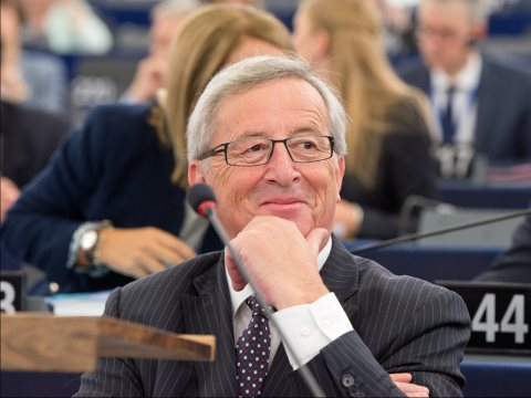Jean-Claude Juncker in a moment of satisfaction following his election by the European Parliament as President of the Commission. But now, will his Commissioners implement his vision? Photo: European Parliament.