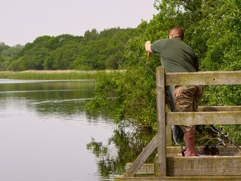 Coarse fishing on Filby Broad, Norfolk, UK. Photo: Colin via Flickr.