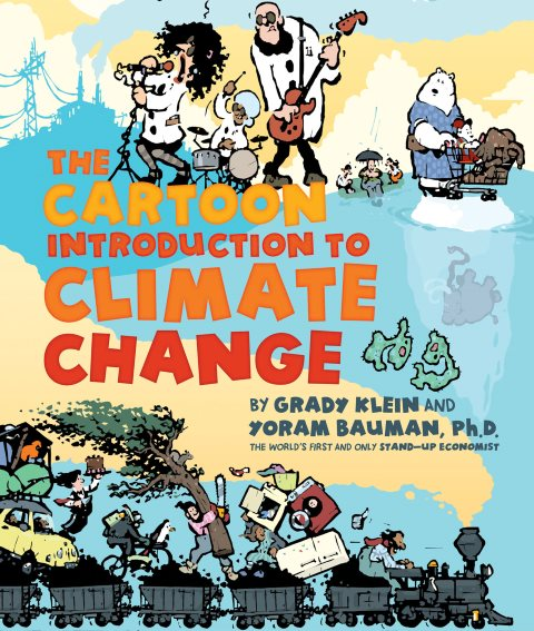 The Cartoon Introduction to Climate Change - front cover. Image: Island Press.