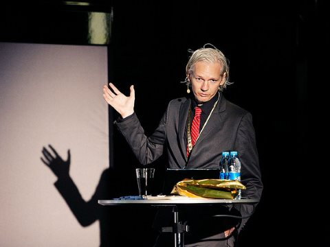 Julian Assange at New Media Days 2009: newmediadays.dk/julian-assange. Photo: New Media Days via Flickr.
