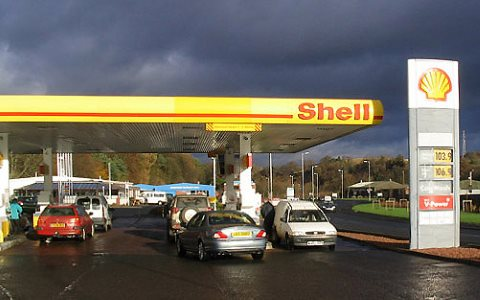 Falling fuel prices have taken the shine off fossil fuel investments. Photo: © Copyright Walter Baxter, CC BY-SA 2.0 via geograph.org.uk.