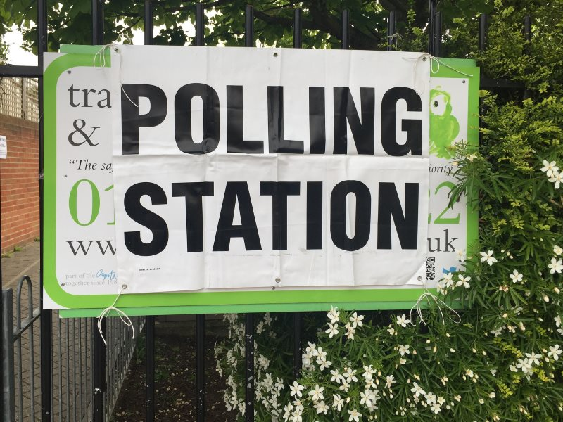 A polling station in Twickenham, 7th May 2015. Photo: Andrew Hall via Flickr (CC BY-NC-ND).