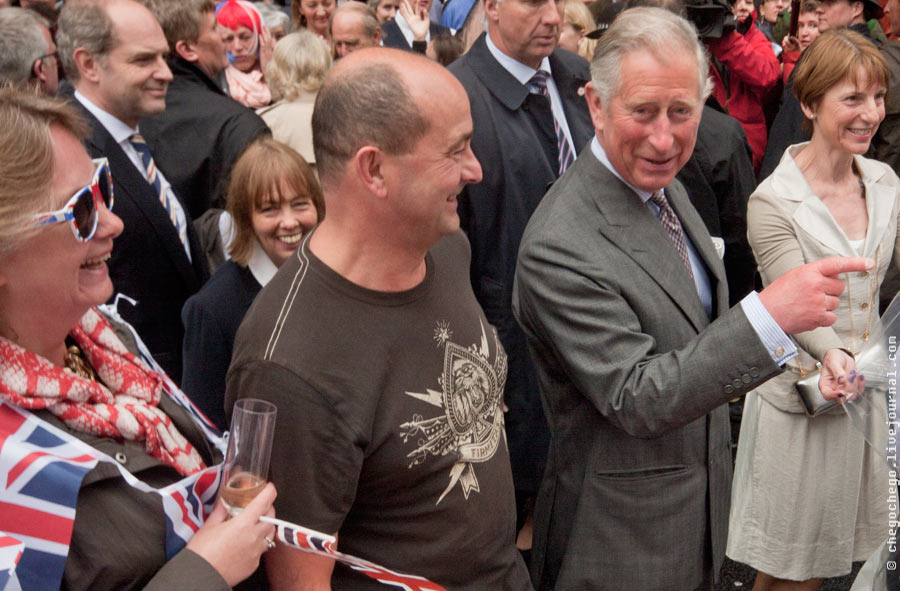 Prince Charles during the Big Jubilee Lunch on Piccadilly, 4th june 2012. Photo:  chego-chego via Flickr (CC BY-NC-ND).