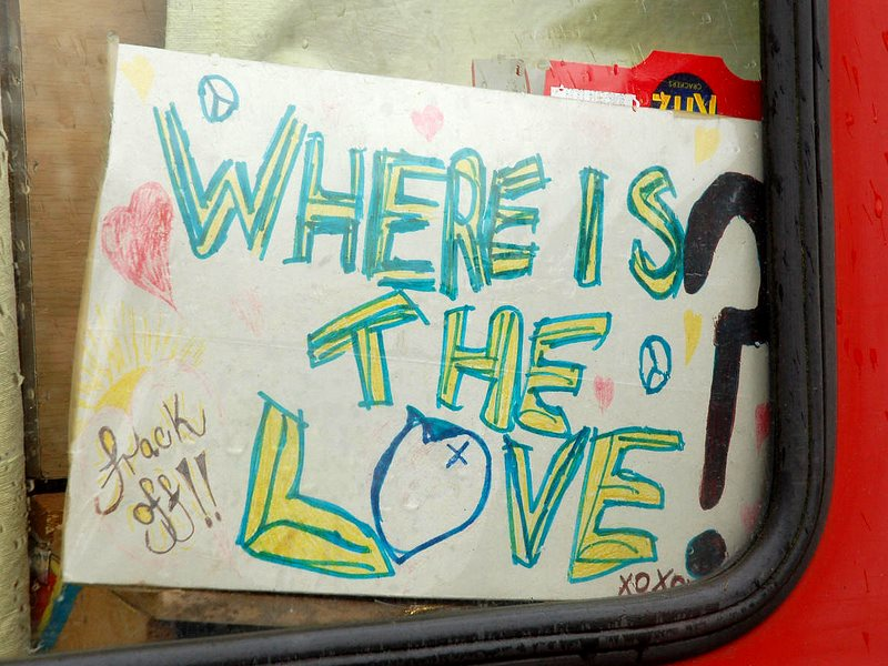 Where is the Love? That'll be at the Earth First Gathering in the Peak District, 19th-24th August. And much more besides ... Photo: Vertigogen via Flickr (CC BY-NC-SA).
