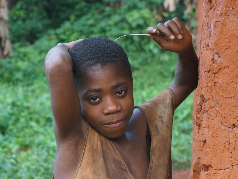 Baka in Cameroon have been prohibited from entering the forest to gather resources they require. Photo: © Survival International.