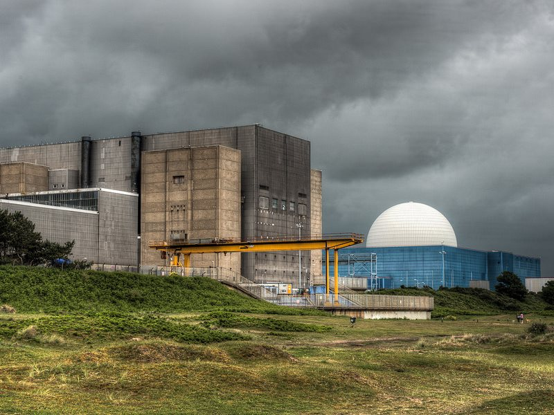 Will China blow up the UK's nuclear bubble? The Sizewell nuclear site (A left, B right) where state owned Chinese companies are lined up a build another nuclear power plant. Photo: Mark Seton via Flickr (CC BY-NC).