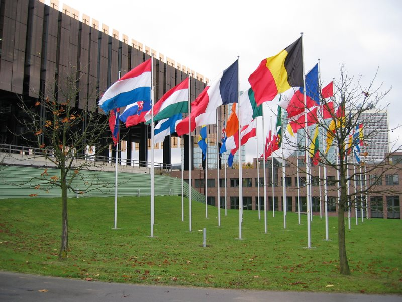 If no EU institution or state refers the ISDS provisions of TTIP and CETA to the European Court of Justice (pictured) then these symbols of sovereignty may become empty of meaning. Photo: Cédric Puisney via Flickr (CC BY).
