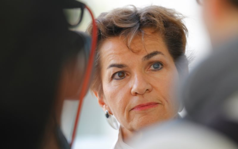 Christiana Figueres at COP18 in Qatar. Photo: Arend Kuester via Flickr (CC BY-NC).