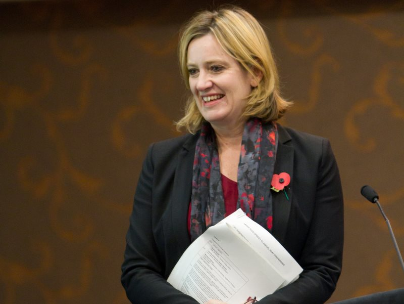Amber Rudd MP, Secretary of State at the Department of Energy and Climate Change. Photo: Association for Decentralised Energy via Flickr (CC BY-ND).