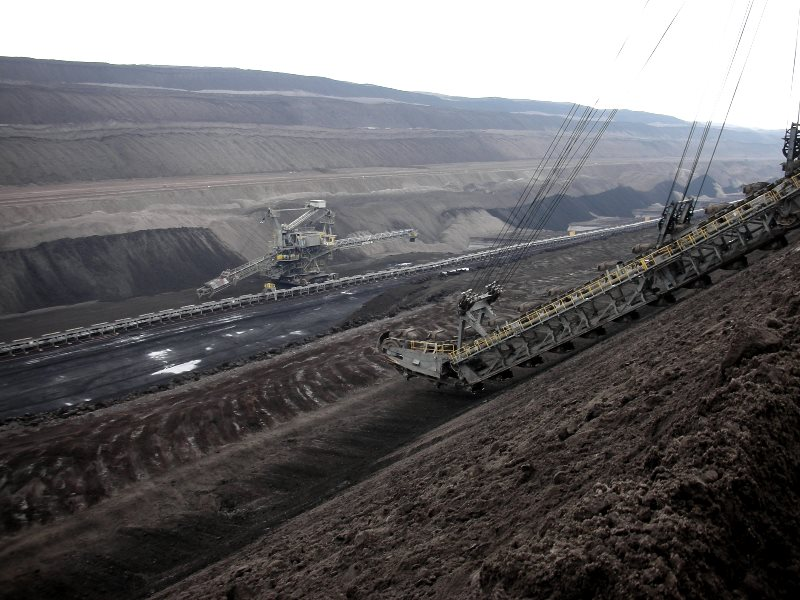 Mine away! Just take back your carbon once it's released to the atmosphere. Vattenfall opencast brown coal mine in Germany. Photo: Yoav Lerman via Flickr (CC BY-NC-SA).