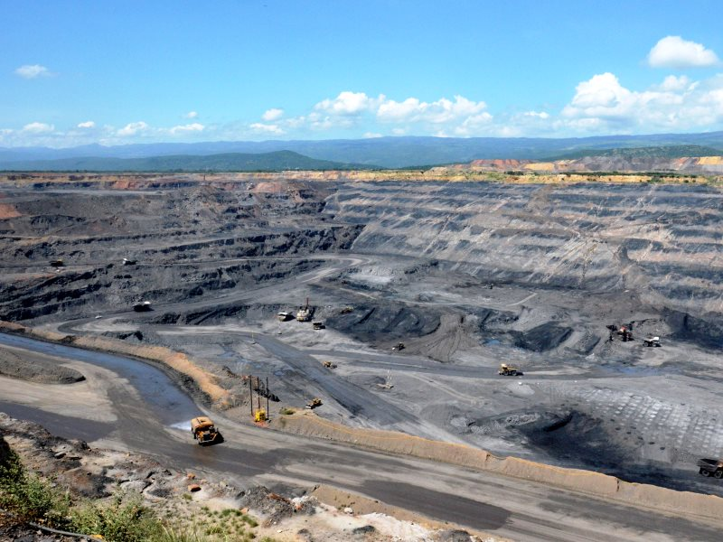 The Cerrejón coal mine in Colombia, which supplies coal to UK power statins including Drax in Yorkshire. Photo: Hour.poing.
