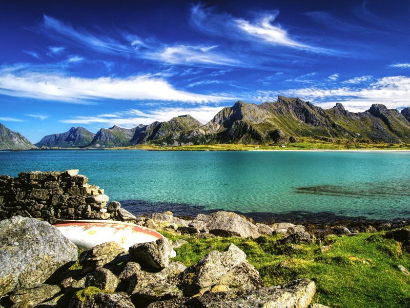 The tranquil beauty of Lofoten could be threatened with the prospect of off-shore drilling. Photo: Sören Schaper via Flickr (CC BY-ND).
