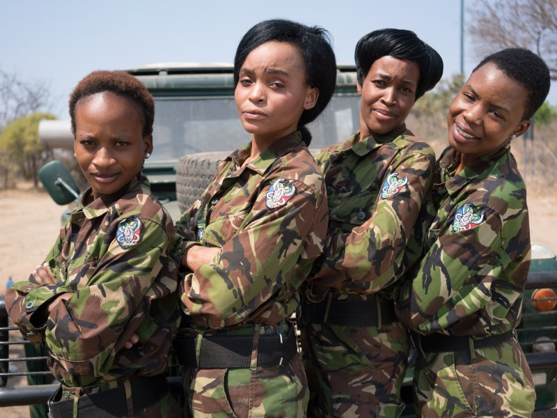 The Black Mambas mean business! Photo: Julia Gunther.