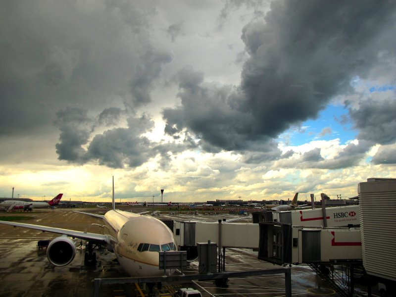 Heathrow Airport. Photo: Sergio Y Adeline via Flickr (CC BY-NC).