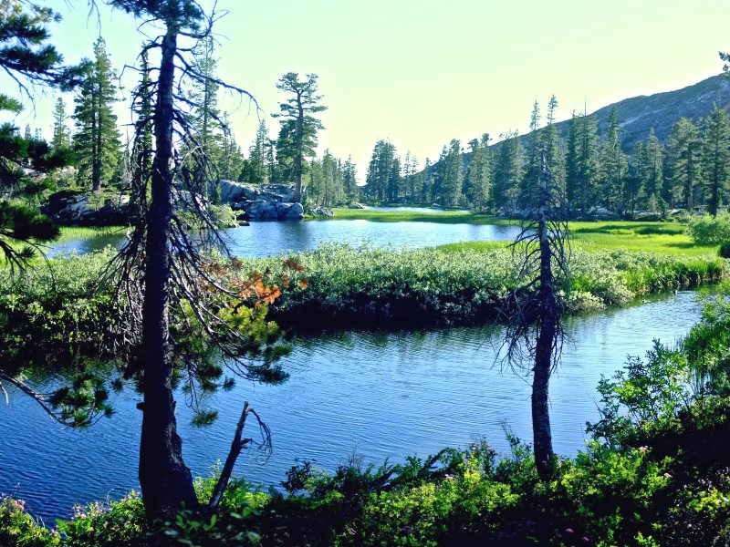 Maud Lake, Desolation Wilderness, El Dorado County, California. Photo: Blake Lemmons via Flickr (CC BY).