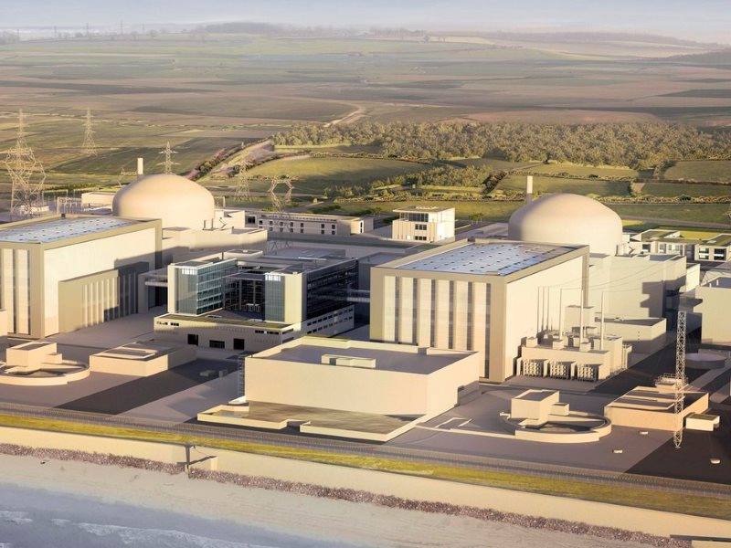 Will it all come to nothing? Artist's impression of the planned Hinkley C nuclear power station. Image: EDF Energy.