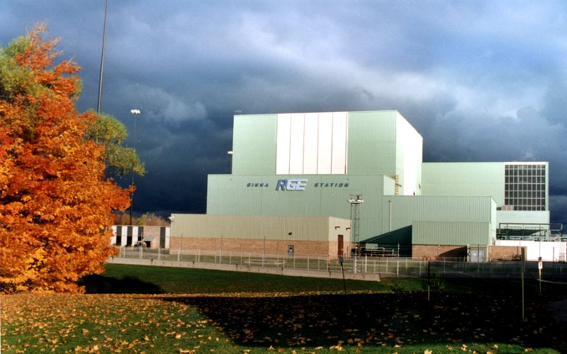 R.E. Ginna Nuclear Power Plant near Ontario, NY - one of those to get the Governor Cuomo 'clean energy' subsidy. Photo courtesy of ©Exelon Nuclear via Nuclear Regulatory Commission on Flickr (CC BY-NC-ND).