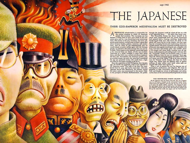 How the US saw the Japanese people in 1942. Photo: James Vaughan via Flickr (CC BY-NC-SA).