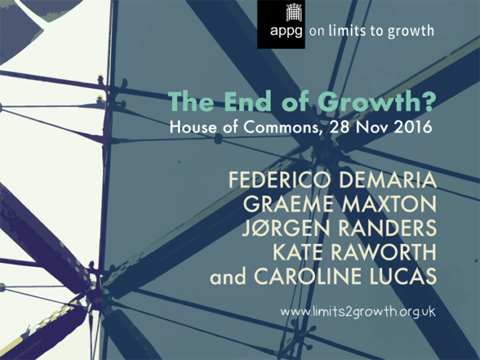 Postgrowth debate on 28 Nov 2016