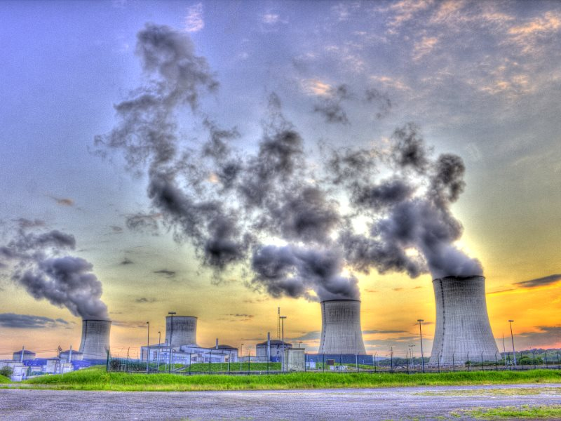 The nuclear dream is turning into a nightmare! EDF's Cattenom 5.5 GW nuclear plant in Lorraine, France, built on the border with Luxembourg. Photo: Matthieu Nioufs via Flickr (CC BY-NC-ND).