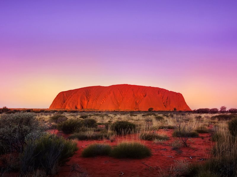 Uluru at sunset. Photo: Chris Ford via Flickr (CC BY-NC).
