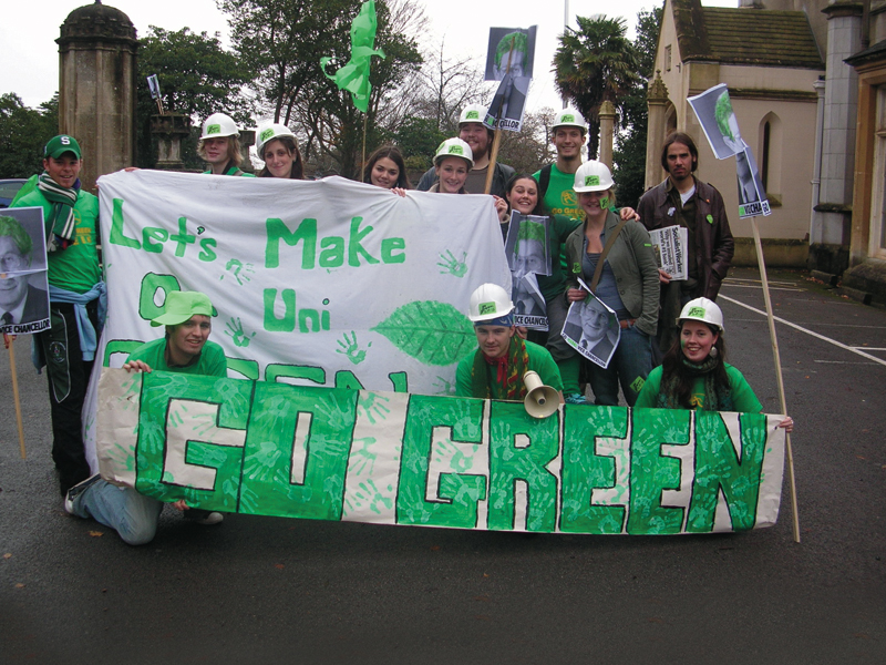 Let's make Uni Green Rally