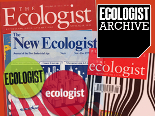 Ecologist Archive